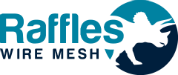 Raffles Mesh – Zoo Mesh, Animal Enclosure, Aviary, Flexible Stainless Steel Wire Mesh, Rope mesh Logo