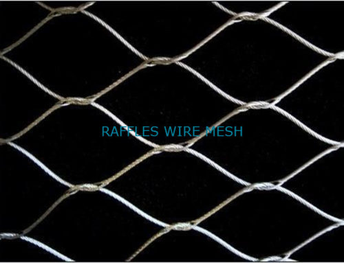Boost Security of Enclosed Area With Wire Rope Mesh