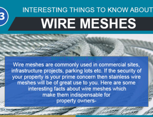 Infographic: 3 Advantages of Using Wire Meshes